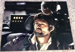 TOM SKERRITT SIGNED AUTOGRAPH ALIEN TOP GUN 8x10 PHOTO B wEXACT PROOF