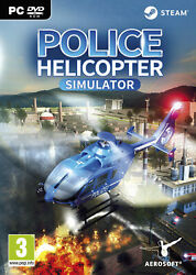POLICE HELICOPTER SIMULATOR PC $32.90