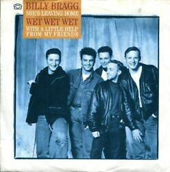 Billy Bragg - She's Leaving Home  With A Little Help From My Friends (Vinyl)