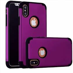 Compatible with iPhone Xs CaseiPhone X Case Heavy Duty Hybrid Protective Hard
