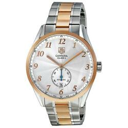 TAG HEUER MEN'S CARRERA HERITAGE 39MM TWO TONE AUTOMATIC WATCH WAS2151.BD0734