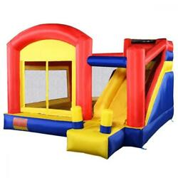 Inflatable Bounce House Jump Outdoor Kids Party Exercise Fun Playground Gift New