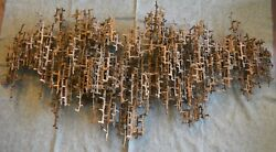 Daniel Gluck Large Iron Wall Sculpture