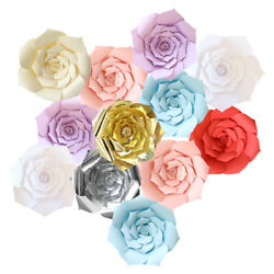 20 30 40cm DIY Large Paper Flowers Backdrop Flower Wall Wedding Party Decoration $5.98