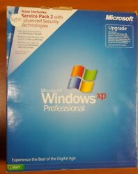 Microsoft Windows XP Professional UPGRADE with SP2 E85 02666 $69.99