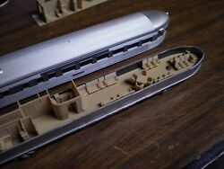 LOT OF 2 HO SCALE OBSERVATION INTERIORS FOR ATHEARN STREAMLINED PASSENGER CARS $21.95