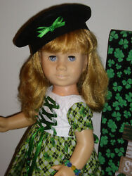 Chatty Cathy Rare Soft Face #5 Piigtail Strawberry Blonde Adorable  SHE TALKS!!
