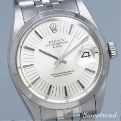 Rolex Oyster Perpetual Date Ref.1500 Cal.1570 1972 Automatic Auth Men Watch Work