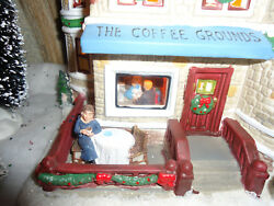 St. Nicholas Square The Coffee Grounds Illuminated New 2010 $59.00