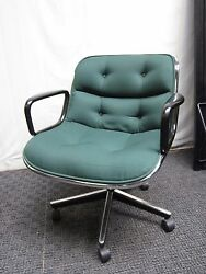 50 Mid Century Charles Pollock office chair authentic knoll $159.00