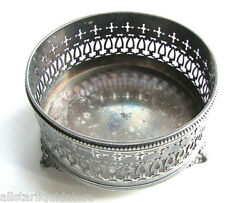 ANTIQUE MERIDEN B. COMPANY 127 ROGERS BROS SILVER PLATE DISH CANDY