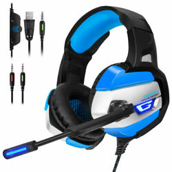 ONIKUMA K5 Gaming Headsets Headphones for PS4 New Xbox One PC Stereo with Mic