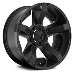 XD Series XD811 ROCKSTAR 2 Wheels 17x8 (35 5x120.65 74.1) Black Rims Set of 4