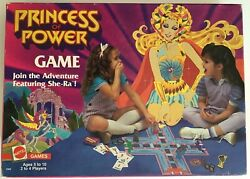 Princess of Power Game - Join The Adventure Featuring She-Ra! (Board Game 1986)
