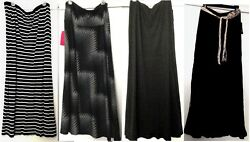 Choice of Ladies Brand Names Maxi A-Line Skirts Size XL
