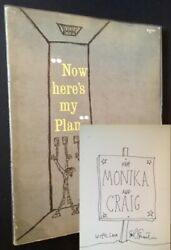 Shel Silverstein  Now Here's My Plan A Book of Futilities Signed 1st ed 1960