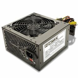 Brand NEW Powork 600w Max ULTRA QUIET ATX Power Supply SATA PCIe amp; 204 pin $26.99