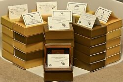 Complete set of First Spouse proof gold coins $60000.00