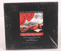 Two Over the Eights by Annette Otterstedt & Hans Reiners [CD]. Lyra Viols. NEW