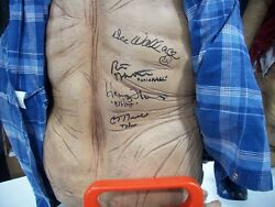 E.T. the extra terrestrial lifesize NECA movie prop autographed signed