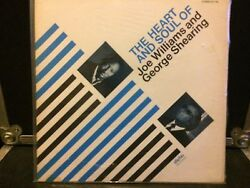 The Heart And Soul Of Joe Williams And George Shearing LP VG