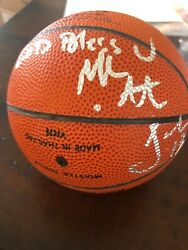 MARK JACKSON Autographed SIGNED SPALDING GAME BALL PACERS Mini Basketball JSA $39.99