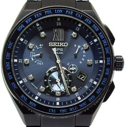 Seiko Astron SBXB157 8X53-0AZ0 Diamond Limited 500 Solar Auth Mens Watch Works