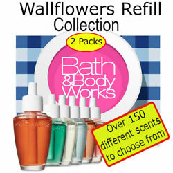 Bath and Body Works Wallflowers Refill Set 2 Pack *Pick from 150+ Scents* $16.49