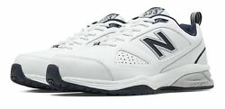 New Balance Male Men's 623V3 Trainer Mens Cross-Training White With Navy