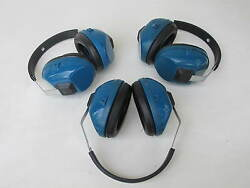 3 Used Wilson Sound Barrier Earmuffs