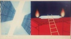 James Rosenquist Other Great Cities Signed original etching limited #4378