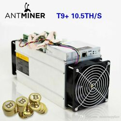 Bitmain T9+ Antminer 10.5THs Bitcoin Miner Ready to Ship in US