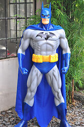 BATMAN BLUE JIM LEE VERSION Custom Statue Life Size 6 foot resin toy kit art