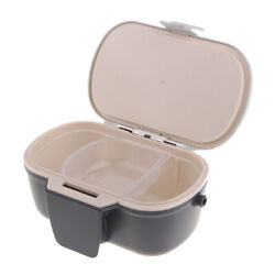 Fishing Live Bait Lure Box Case with Breathable Holes Worm Earthworm Holder $18.44