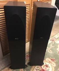 Pair of Mirage FRX Five floor standing Speakers 2 way Sound Good Pickup only $149.99
