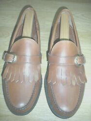 SEBAGO Classic Men's Shoes 12D Leather LOAFERS ( HANDSEWN IN USA.