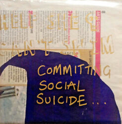 HELP SHE CAN'T SWIM - COMMITTING SOCIAL SUICIDE * 7 INCH VINYL * FREE P