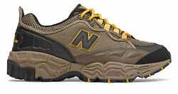 New Balance Men's 801 Trail Shoes Tan With Brown