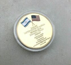 New Jerusalem USA Embassy Trump Challenge Coin 2-3 days shipping Only!!