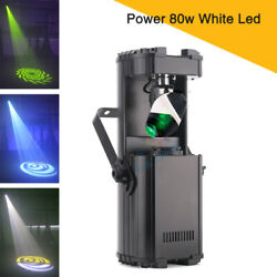 New High Power 80W LED Scanner Light Gobo Projector Pattern Effect Stage Lights $320.00