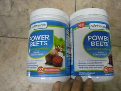 New ! 2 X 11.6 oz Nu-Therapy Power Beets Juice Powder (60 Servings per a bottle)