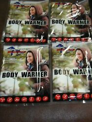 4 PACKS  Great Lakes BODY Warmers   THESE WORK GREAT  FREE SHIPPING   APO-40 $9.85