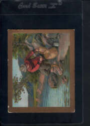 1910 T57 Turkish Trophies Fable Series (1-50) Angler & Fish VG 27641