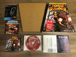 Tomb Raider: Chronicles PC [Trapezoid Big Box][Complete][Collector's Condition]