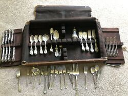 52 Piece Reed & Barton Francis 1 with RARE SALT SHAKER! And Misc Other Pieces