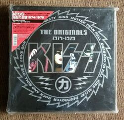 KISS THE ORIGINALS 1974-1979 COLORED VINYL BOX SET IN ORIGINAL WRAP JAPAN