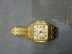 Lenoir Woman's Elegant Dress Watch Excellent Condition Working Perfectly