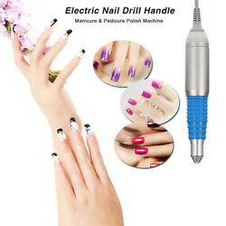 30000RPM Electric Nail Drill Handle Handpiece Nail Drill Pen Nail Polish P5D3