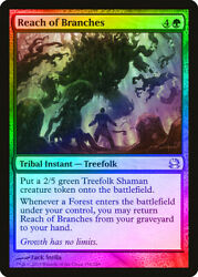 Reach of Branches FOIL Modern Masters PLD Green Uncommon MAGIC CARD ABUGames