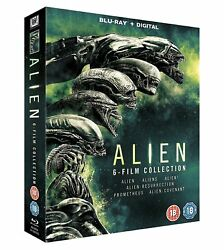 Alien - Complete Collection [Movies 1-6] (Blu-ray 6 Discs Region Free) *NEW*